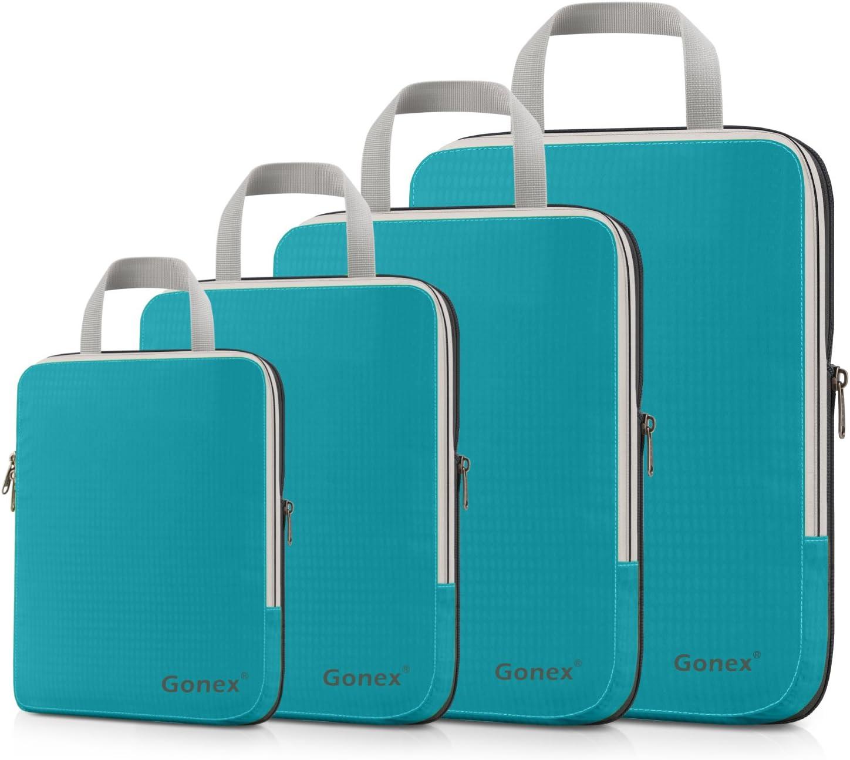 Gonex Organisateur Bagage Valise Sac Rangement Compression pour Voyage
