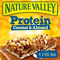 Nature Valley Protein Coconut and Almond Cereal Bars 4x40g