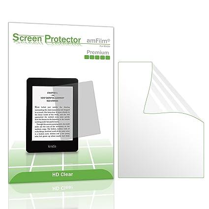 Kindle protector de pantalla, amFilm Kindle HD transparente ...