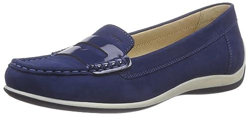 Geox D Yuki B, Mocasines para Mujer, Azul (DK Royal C4072), 35 EU: Amazon.es: Zapatos y complementos