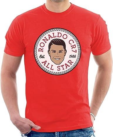 Cristiano Ronaldo All Star Converse Logo Mens T-Shirt ...