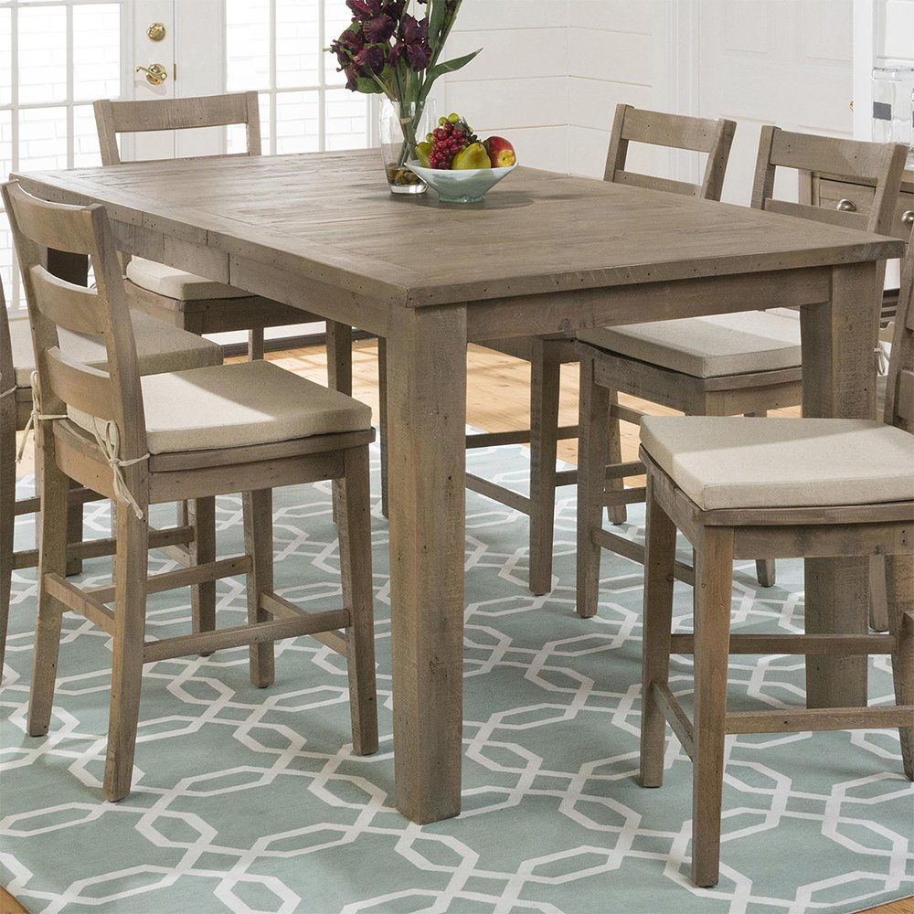 Amazon Com Jofran Slater Mill Pine Wood Counter Height Dining. Description: Pine  Dining Room Table ...