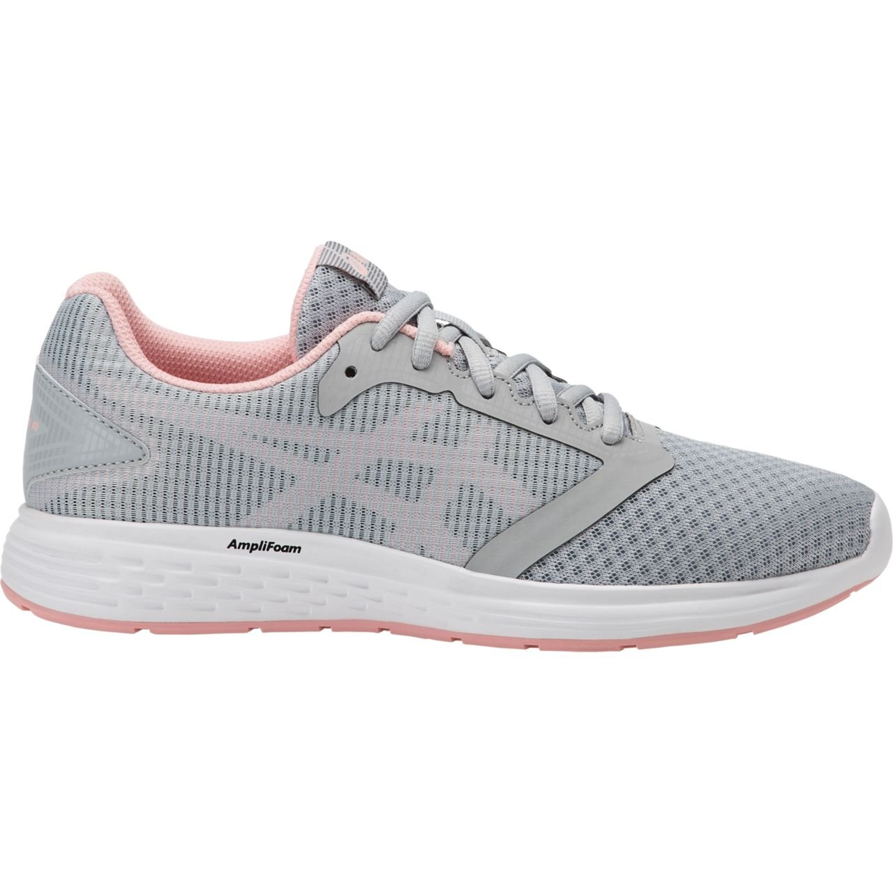 ASICS Patriot 10 Women's Running B077TYDDRG 7 B(M) US|Mid Grey/Frosted Rose