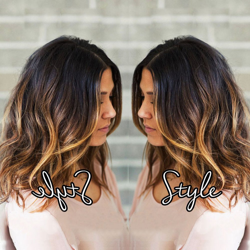 TopFeeling Ombre Highlight Human Hair Bob Wigs Full Lace Human Hair Wigs With Baby Hair Short Glueless Full Lace Wigs