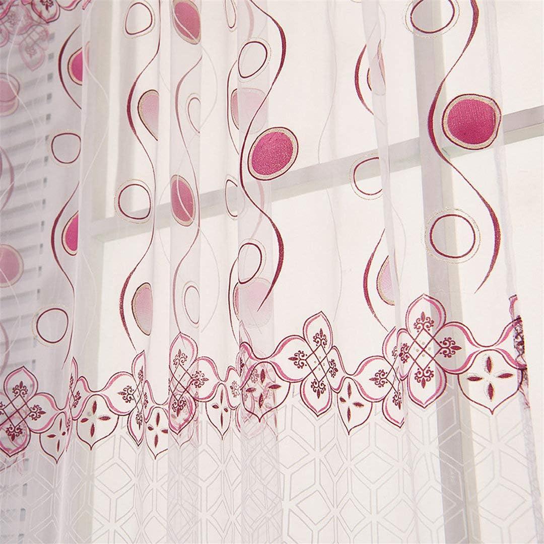LianMengMVP Rideaux Rideaux Moderne Dreamlike D/écoratif Blackout Thermal Tissu Rideau pour la Chambre Salon Balcon Salle d/étude Fille Partition
