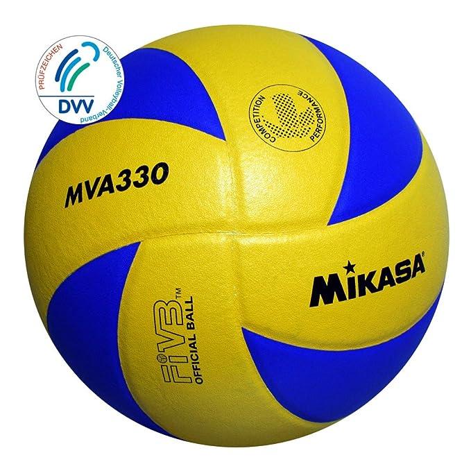 Mikasa MVA 330 - Pelota para Voleibol (Talla 5): Amazon.es ...