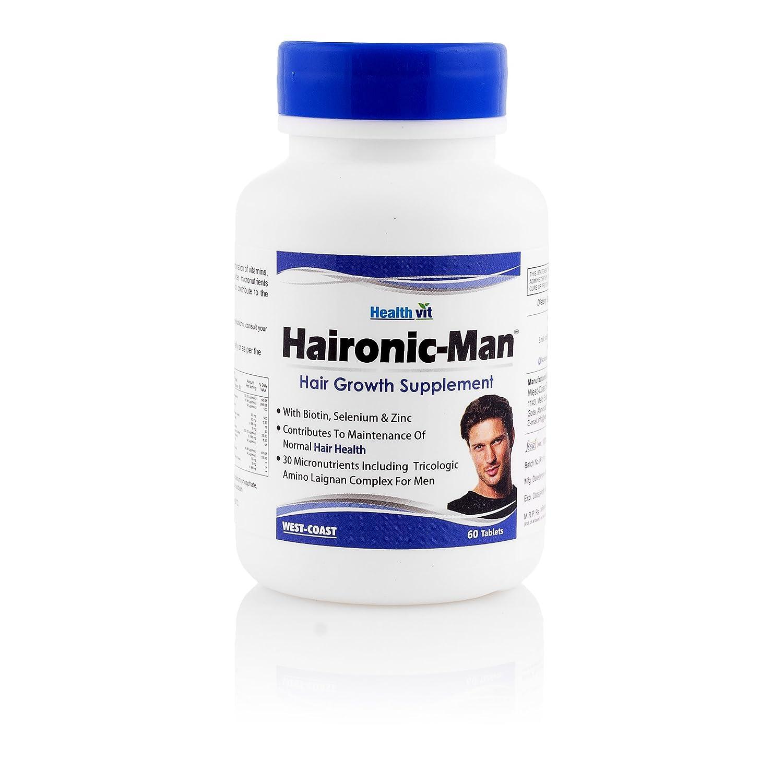 Healthvit Haironic Man Hair Growth Supplement - 60 Tablets