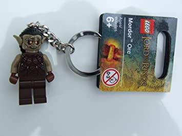 LEGO El Señor De Los Anillos: Mordor Orc Llavero: Amazon.es ...