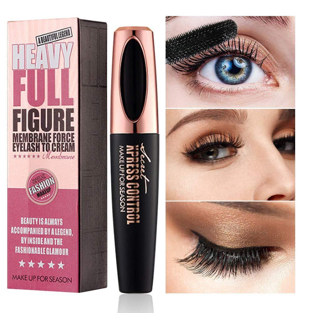 76959330e76 Vicious Teknology Natural 4D Silk Fiber Lash Mascara (Waterproof), All Day  Dramatic and