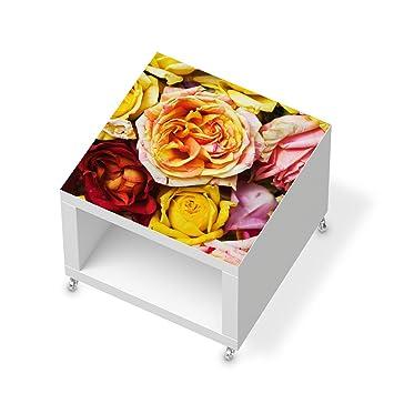 Creatisto Möbel Aufkleber Folie Für IKEA Lack Beistelltisch Mit Rollen |  Dekoration Klebefolie Möbeltattoo |