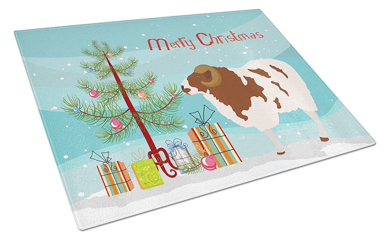Carolines Treasures BB9342LCB Jacob Sheep Christmas Chopping Board Large Multicolor
