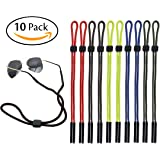Attmu Sports Sunglass Holder Strap, Safety Glasses Eyeglasses Neck Cord String Eyewear Retainer Strap