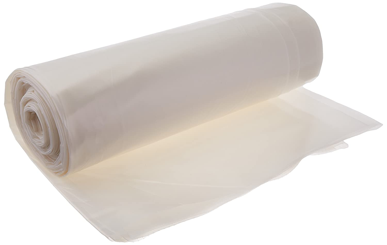 Frost King P1025/6W Polyethylene Sheeting, 10' x 25' x 6 mil., Clear