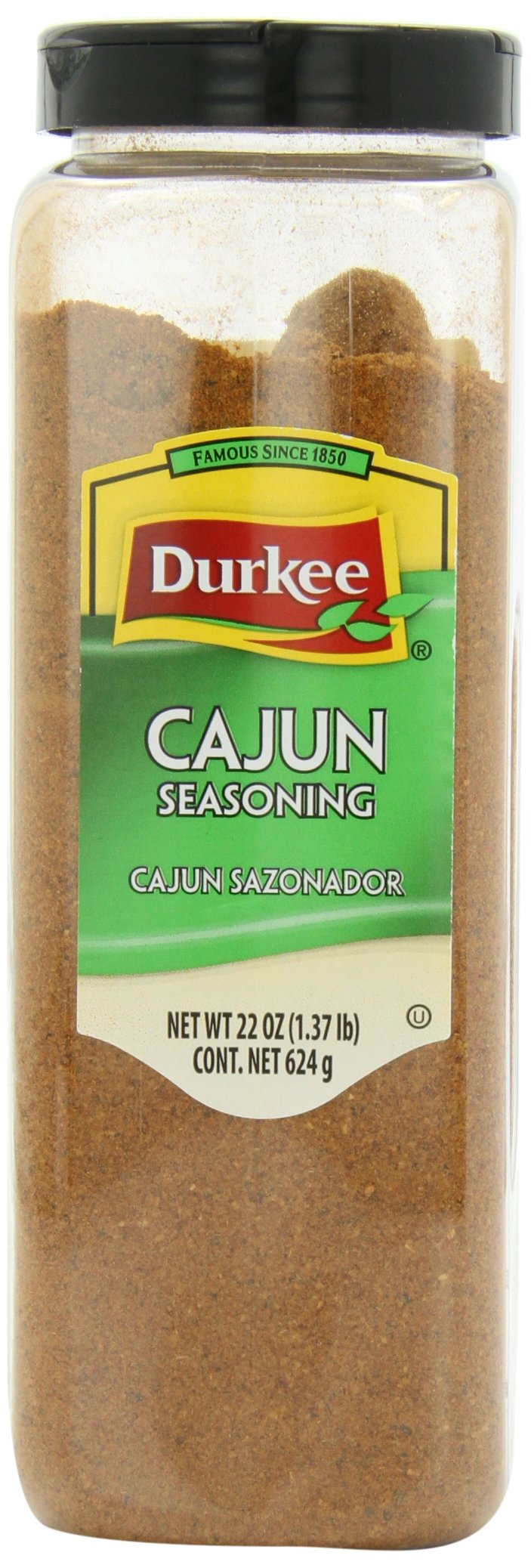 Durkee Cajun Seasoning, 22-Ounce Containers (Pack of 2)