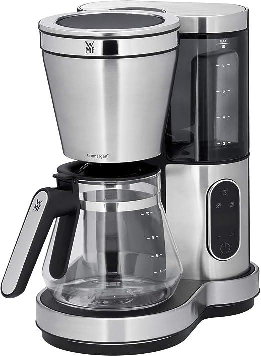 WMF Lumero - Cafetera con jarra de cristal, 10 tazas, función de ...