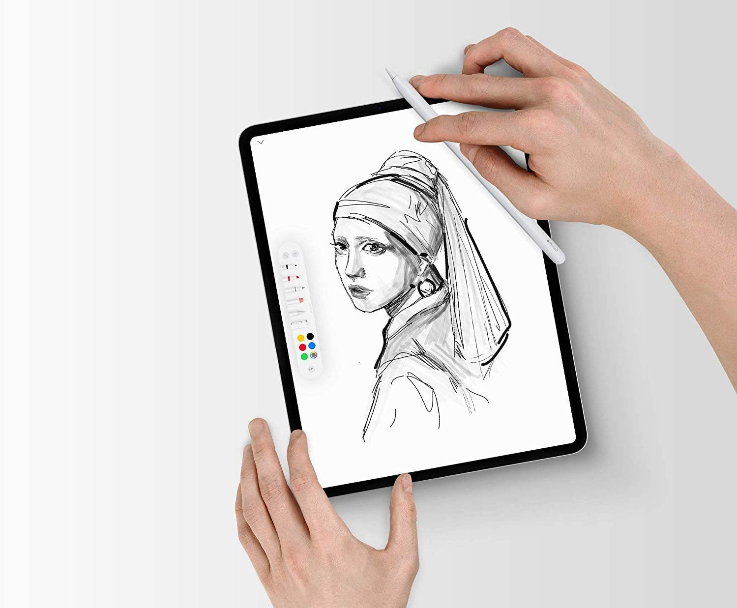 2019 Two-Pack Draw And Write with Your Apple Pencil Like on Paper 10.2-inch iPad Screen Protector for iPad PaperLike with Nanodots