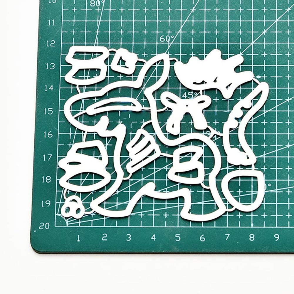 Cute Dog Paw Metal Cutting Die Embossing Card Maker DIY Album Scrapbooking WFZ17 Die Cuts