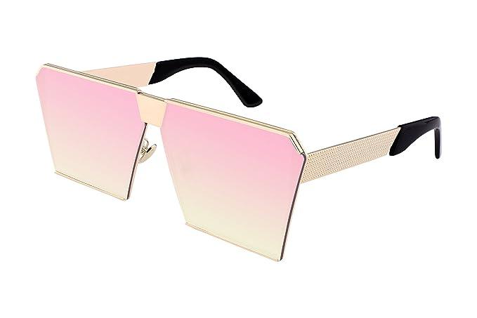FEISEDY Occhiali da sole - Donna rosa Pink uFt17WXj