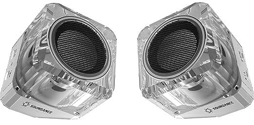 25 opinioni per Soundance® Altoparlanti Bluetooth Speakers con Bluetooth 4.1 TWS (True Wireless