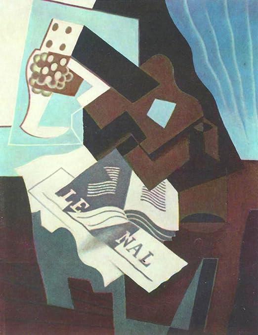 El Museo de salida - Bodegón con guitarra, libro y periódico por ...
