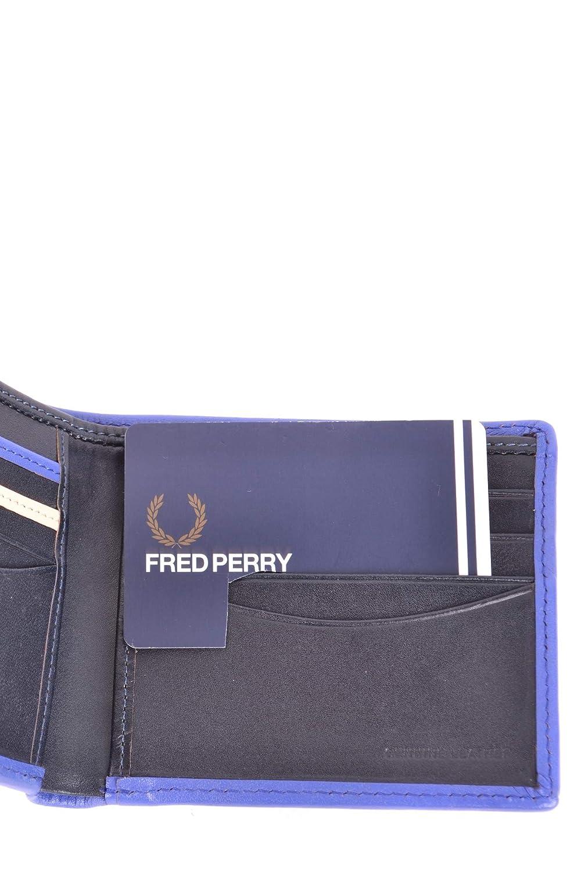 Fred Perry - Cartera para hombre Hombre azul Marke Talla UNI: Amazon.es: Ropa y accesorios