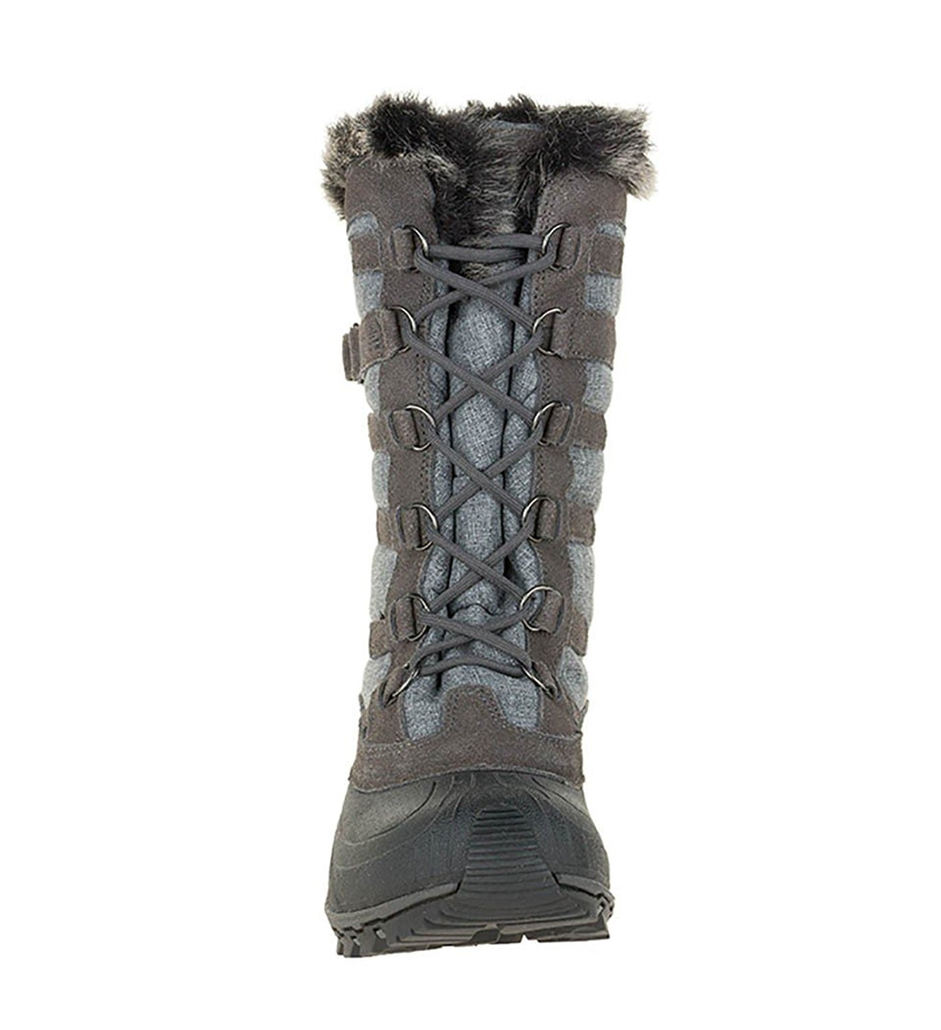 Kamik Women's B(M) Snowvalley Boot B00HSYDMW4 10 B(M) Women's US|Charcoal 91595c