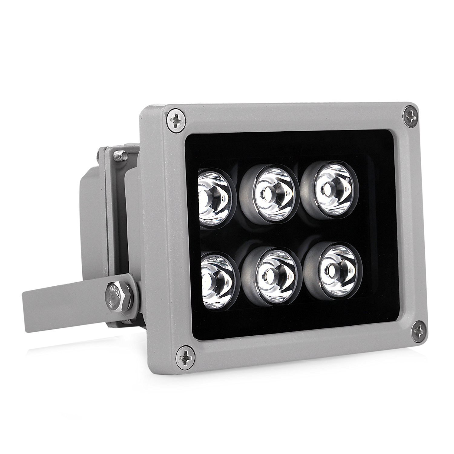 VIKYLIN IR Illuminator 850nm 6 Leds 90 Degrees Wide Angle IP67 for CCTV Security Camera by VIKYLIN