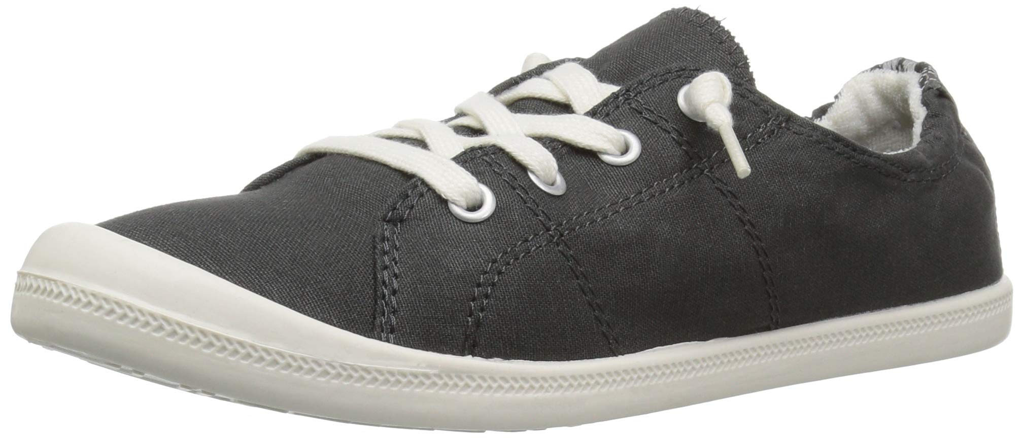 Madden Girl Women's Baailey Sneaker, Dark Grey Canvas, 7.5 M US