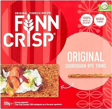 Finn Crisp Biscote Pan Thin Original - 200 gr: Amazon.es: Alimentación y bebidas