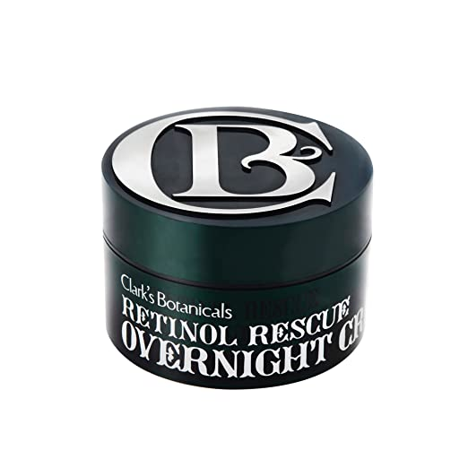 Clark's Botanicals Retinol Rescue Overnight Cream with Calming Colloidal Oatmeal, 1.7 oz.