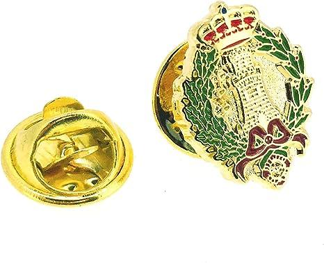 Pin de Solapa del Emblema del Arma de Ingenieros del Ejército de Tierra de España: Amazon.es: Ropa y accesorios