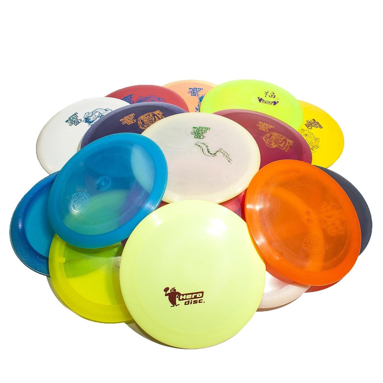 Hero Disc ゴルフ ミステリーボックス 日本オープンディスクゴルフ ディスク3枚セット プラスミニ B0762FQQN4  イチバン ミステリーボックス