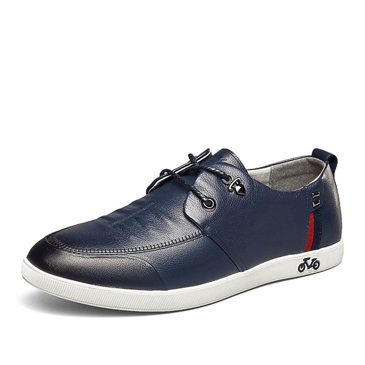MUYII Herren Oxfords Lederschuhe Casual Lace Up Herren Rutschfeste Bequeme für Schuhe Geschäft-Schuhe für Bequeme Männer 4c4886