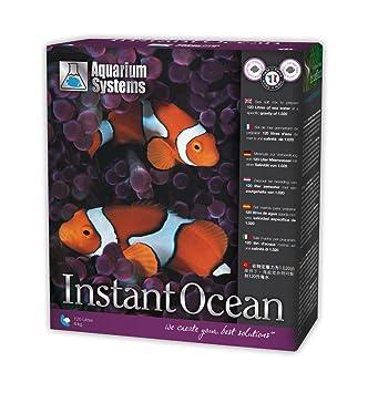 Acuario Systems 1010002 Instant Ocean - Sal Marina: Amazon.es: Productos para mascotas