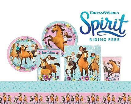Amazon Com Spirit Riding Free Birthday Party Supplies Pack 16