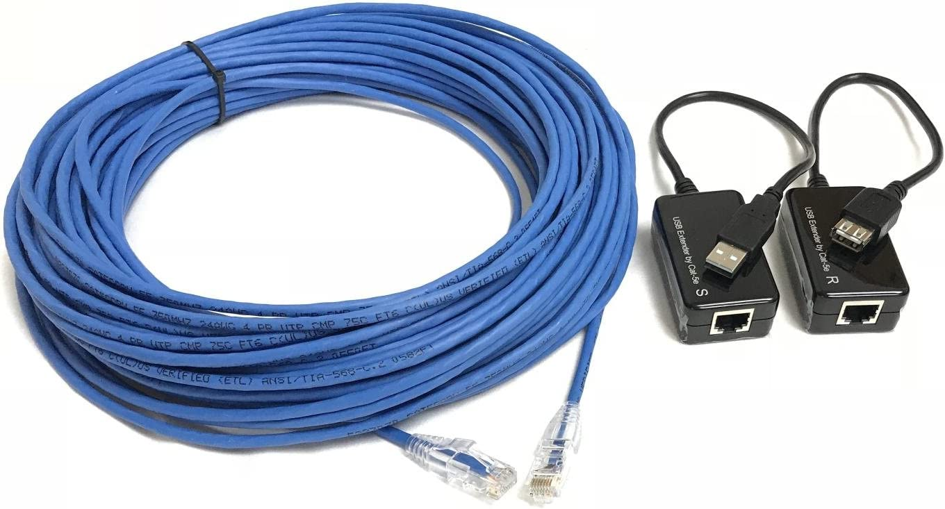 150 Foot USB 1.1 A//A Extension Kit Over Cat5e sold by Custom Cable Connection