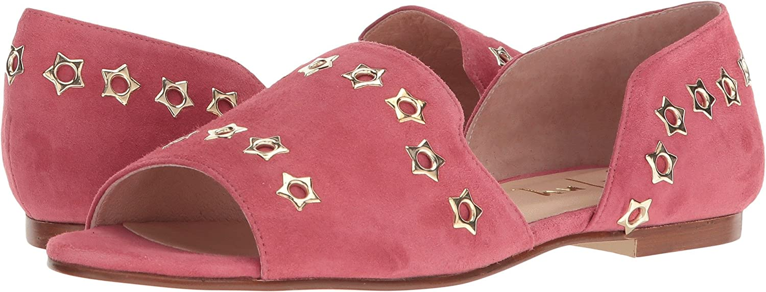 French Sole Womens Whistle 2 B076NXP2SP 8 B(M) US|Rose Suede