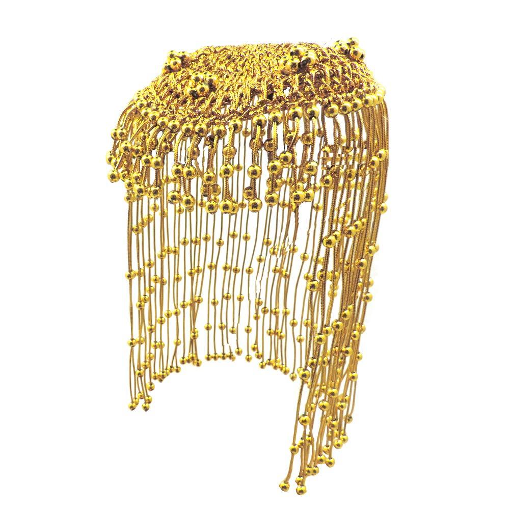 Egyptian Headband Cleopatra Headpiece Queen Snake Asp Gold Costume Adult