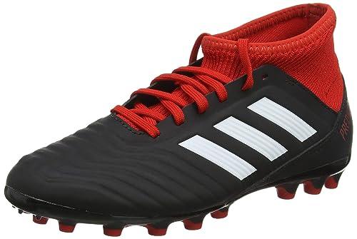 adidas Unisex Kinder Predator 18.3 Ag Fußballschuhe, Schwarz, 28 EU