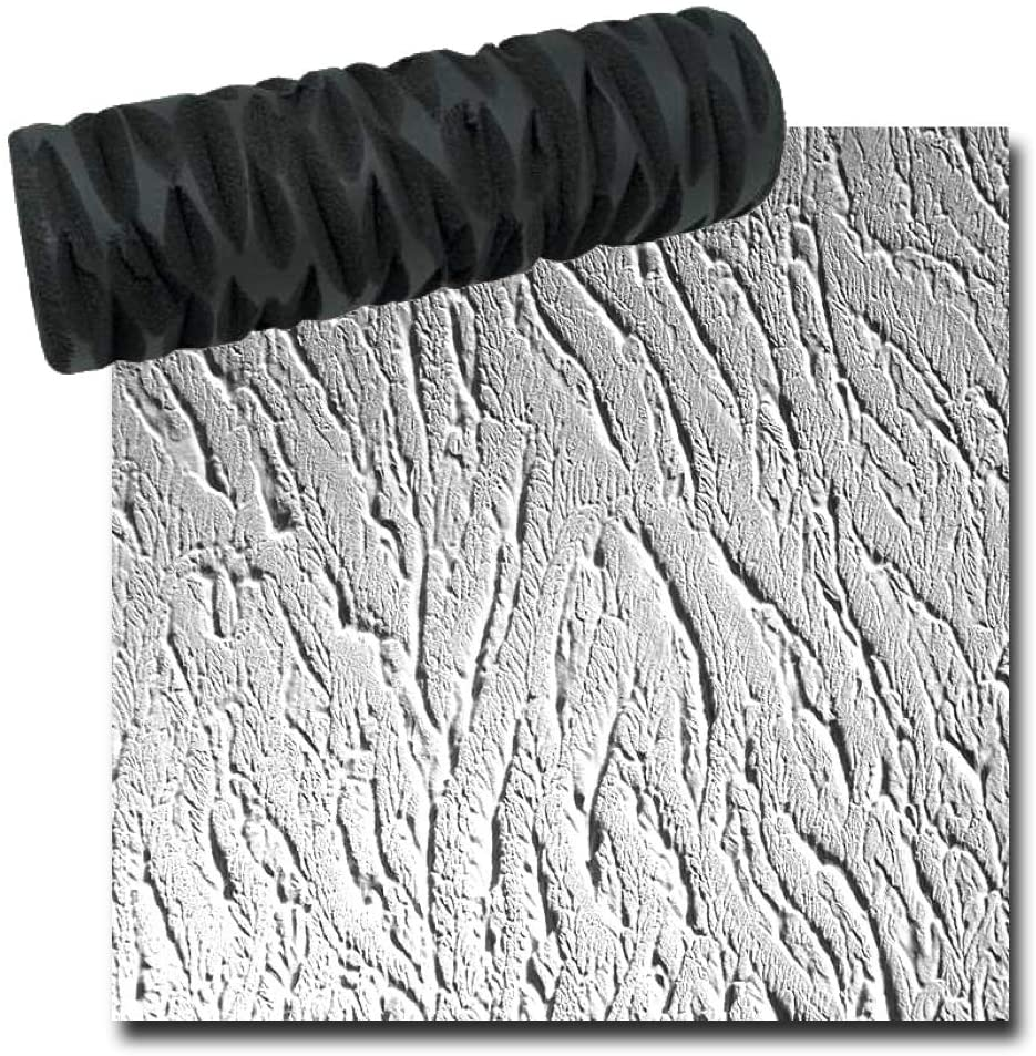 Drywall Texture Roller - Tree Bark Pattern - Decorative Paint Roller