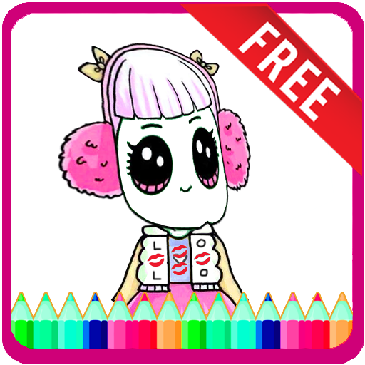 Surprise Dolls Coloring Pages | Unicorns and Princess Cartoons For Kids - FREE