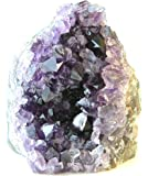 Class 1 Natural Deep Purple Uruguay Amethyst Upright Standing Stone By JIC Gem: 2-3 Pounds