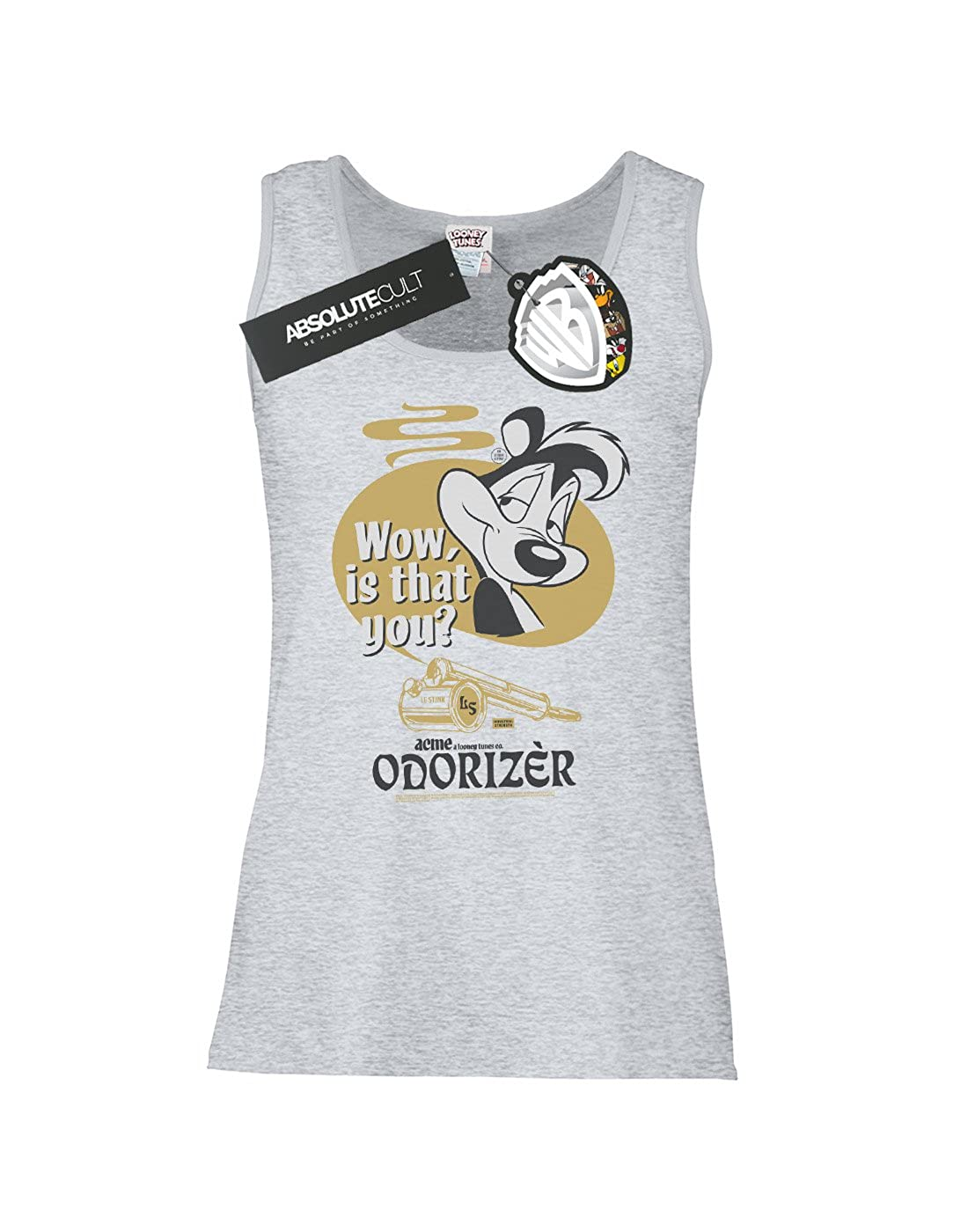 Looney Tunes Womens Pepe Le Pew Odorizer Tank Top
