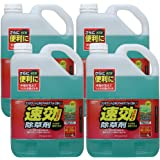 アイリスオーヤマ 除草剤 速効除草剤 4L SJS-4L 4個セット