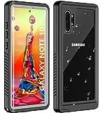 Huakay - Funda impermeable para Samsung Galaxy Note 10+ Note 10 Plus, cuerpo completo, protección de 360 °, a prueba de…