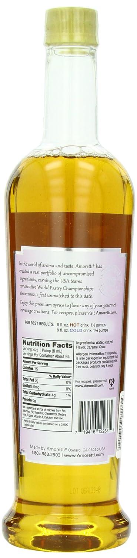 Amoretti Premium Sugar Free Flavoring, French Vanilla, 25.4 Ounce: Amazon.es: Alimentación y bebidas