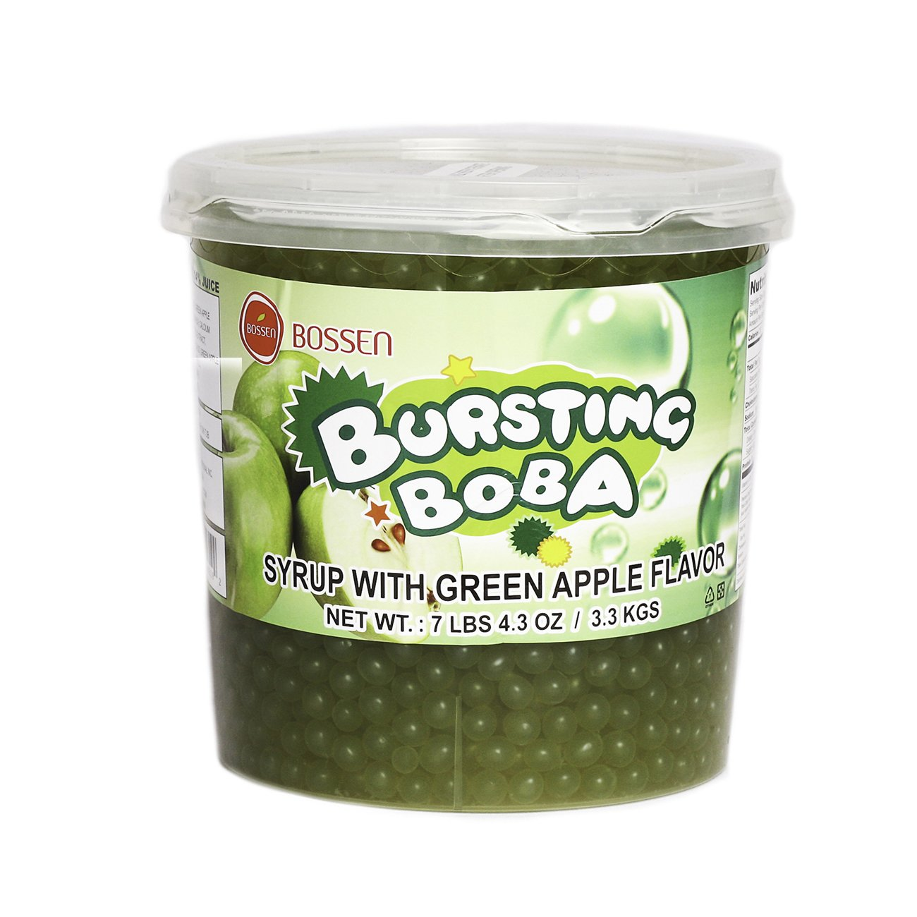 Bursting Popping Boba 726lbs Peach Dessert Green Apple