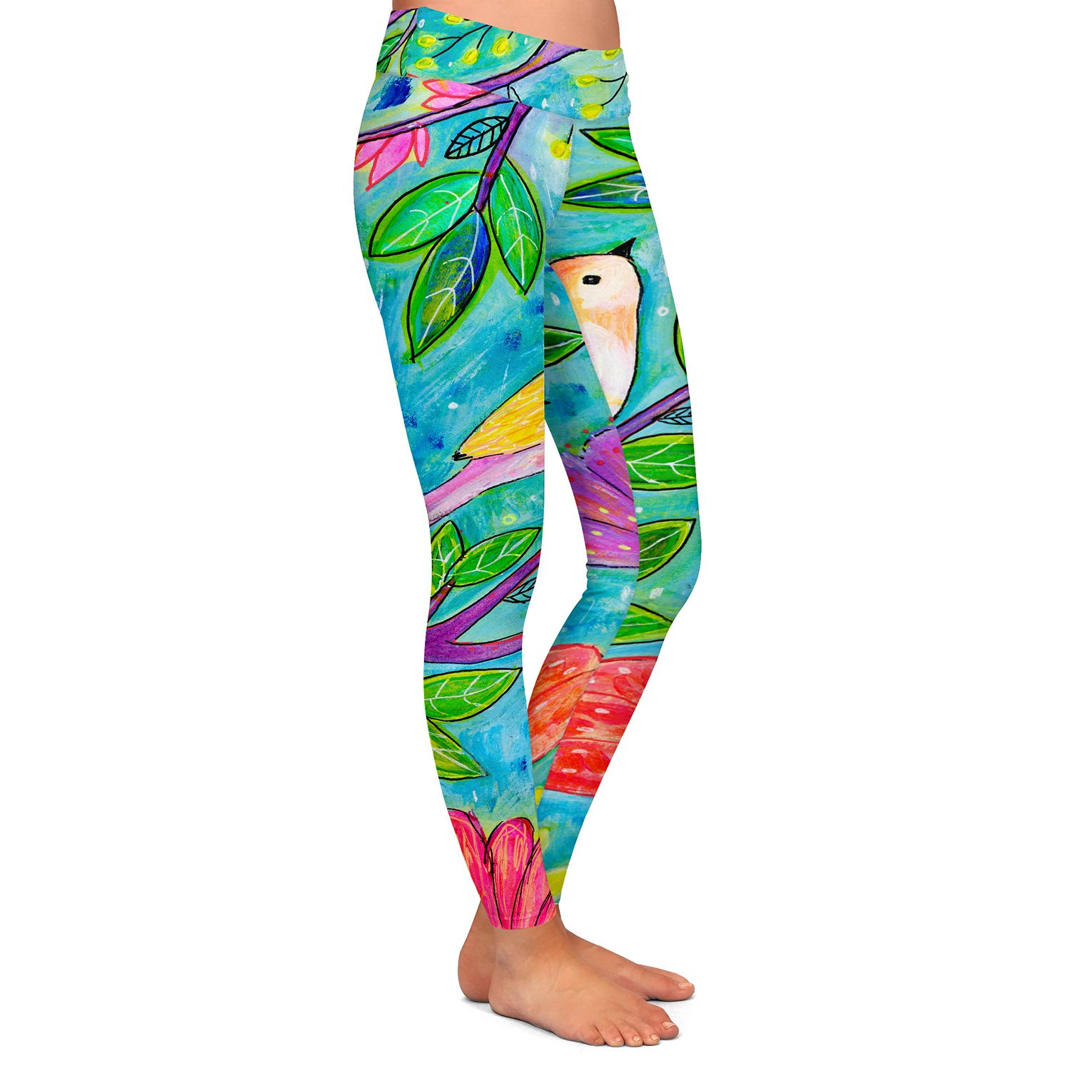 Athletic Yoga Leggings from DiaNoche Designs by Sascalia Radiance