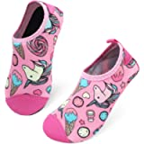 L-RUN Kids Boys Girls Swim Water Shoes Quick Dry Barefoot Aqua Socks for Beach Pool Surfing