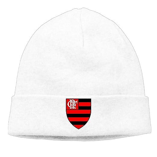 bb2d57b8fddf31 Clube De Regatas Do Flamengo Soccer Team Skull Beanies Hat Unisex Caps